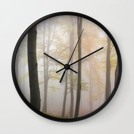 Forest ladscape Wall Clock