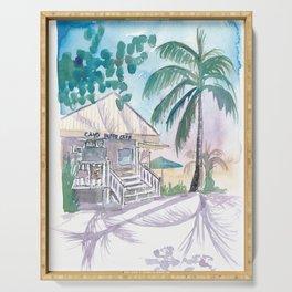 Key West Conch Dream House - Cayo Hueso Beach Cafe Serving Tray