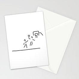 basketball usa basketball player Stationery Cards