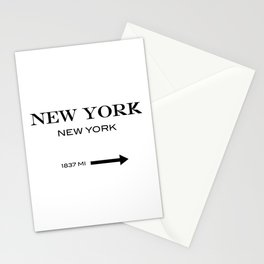 New York - New York Stationery Cards