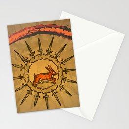 misterio visual 20: la mirada libre Stationery Cards