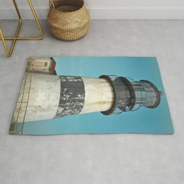 Cape Disappointment Pacific Ocean Washington Northwest Lighthouse Coast Guard Boats Gothic Architect Rug