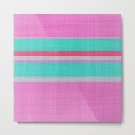 Stripes N.14 Metal Print