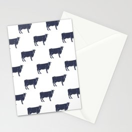 Cow Pattern | Cow Spots Farm Farmer Animal Milk Stationery Cards
