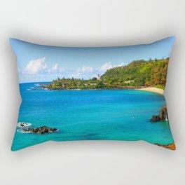 Waimea Bay ... By LadyShalene Rectangular Pillow