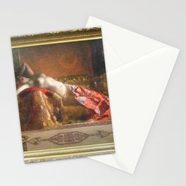 Jean-Joseph Benjamin-Constant - Lying Odalisque Stationery Cards