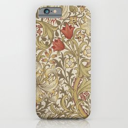 William Morris Golden Lily John Henry Dearle iPhone Case