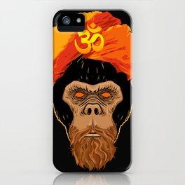 Stoned Monkey iPhone Case