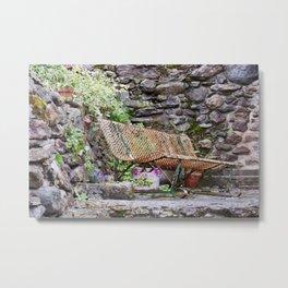 The bench Metal Print