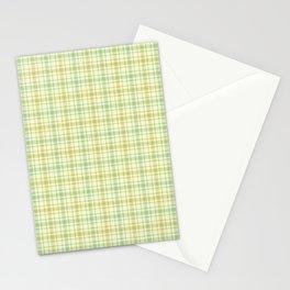Beautiful plaid 1 Stationery Cards