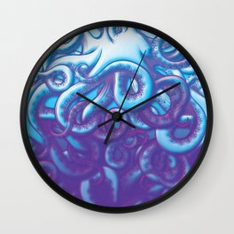 From the Deep Kraken Octopus Squid Tentacles Wall Clock