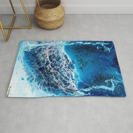 Ocean Wave Rug