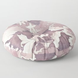 Floral Paisley Floor Pillow