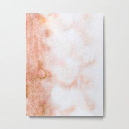 stained fantasy reddish veins Metal Print