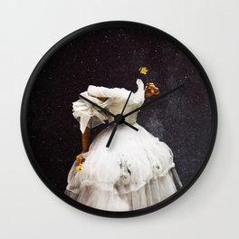Flowergazer Wall Clock