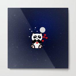 Panda Major Metal Print