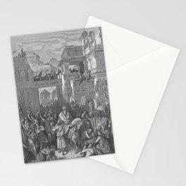 Gustave Doré - La Grande Bible de Tours (1866) 116 The Triumph of Mordecai Stationery Cards