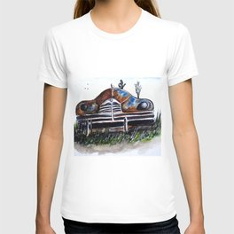 Weathered And Rusting T-shirt
