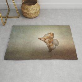 Dog Pomeranian Spitz Rug