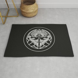 Uesugi Clan · White Mon · Outlined Rug