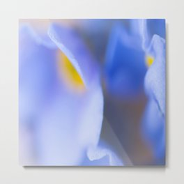 Forget-me-not Wildflower Extreme Macro #decor #society6 #buyart Metal Print