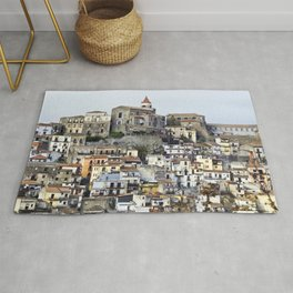 Urban Landscape - Cathedral - Sicily - Italy Rug