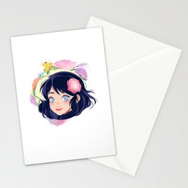 Flowers for Mari Stationery Cards