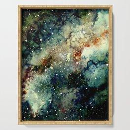 Cosmic Splendor Serving Tray