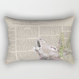 His Master's Voice - The Stag Rectangular Pillow