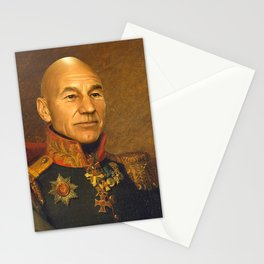 Sir Patrick Stewart - replaceface Stationery Cards