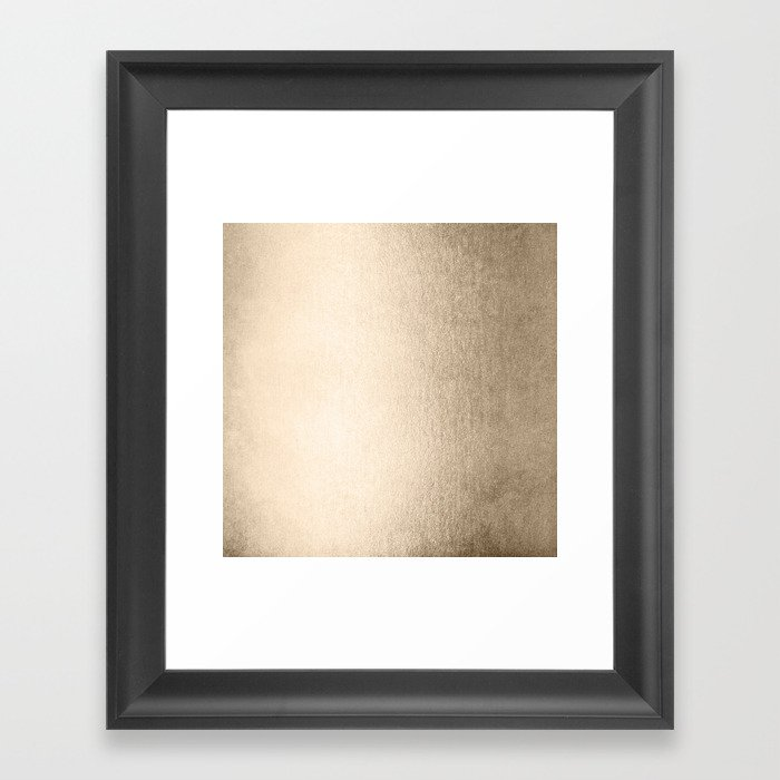 White Gold Sands Gerahmter Kunstdruck