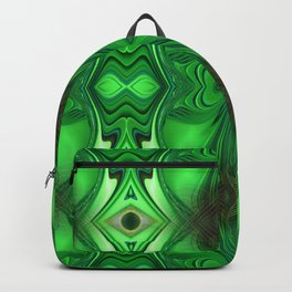 Heart Chakra Energy Repeat pattern Backpack