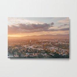 Mulholland Sunset 05 Metal Print