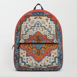 N125 - HQ Bohemian Traditional Moroccan Style Decor Artwork. Backpack