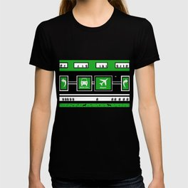 Busy Airport T-shirt