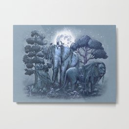 The Stone Menagerie  Metal Print
