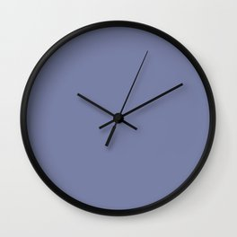 Simply Solid - Lavender Violet Wall Clock