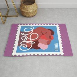 VOTE stamp Rug