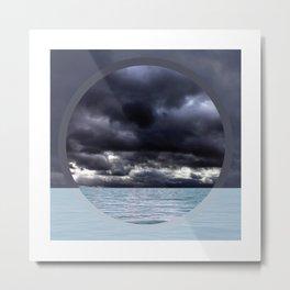 Calm Tempest Horizon - Color Metal Print
