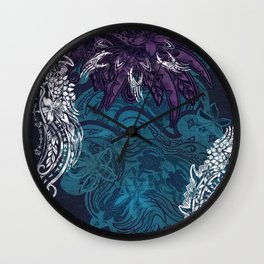 Vintage Samoan - Hawaiian Shark Bite Collar Wall Clock