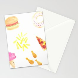 Celebrate National Junk Food Day Everyday Stationery Cards