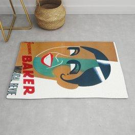 Josephine Baker Vintage Poster for Stockholm Rug