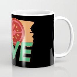 Love Tomato Veggies Vegetable Gardening Coffee Mug