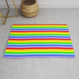 variation on the rainbow 2 Rug