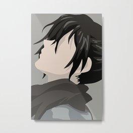 Dororo Hyakkimaru Metal Print