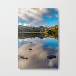 Lake Crafnant Snowdonia Metal Print