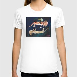 Tiger, Cheetah, Toucan Painting T-Shirt