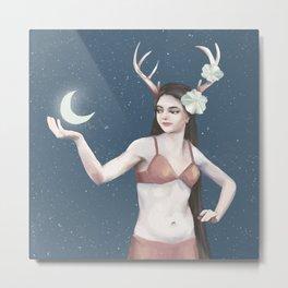 magic belly dancer Metal Print