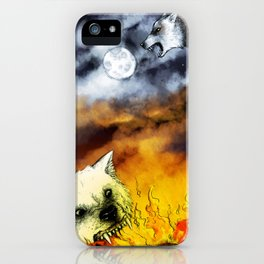 Hati and Skoll iPhone Case