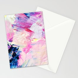 Heydey (Abstract Painting) Stationery Cards